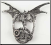 Steampunk Dragon Pendant