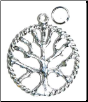 Tree of Life Pendant  1""