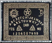 Ouija-Board Altar Cloth