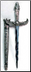 Silver Handled Egyptian Athame