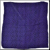 "Stars purple altar cloth 26"" x 26"""