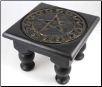 "Pentagram Altar Table  6""x 6"""
