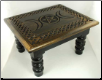 "Triple Moon Altar Table  14""x11""x 8"""