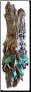 Greenman  Tree Spirit Wall Hanging  14""