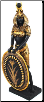 Goddess Isis Statue  13""