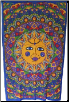 "Sun Multi Color Tapestry  54"" x 86"""