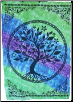 "Tree of Life Multifaith Tapestry  58"" x 82"""