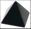 Black Obsidian Pyramid  25-30mm