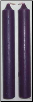 Purple Chime Candle 20 Pack