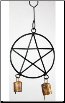 Pentagram Wind Chime 5""