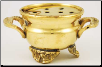 Brass Cauldron with Screen Burner 2""