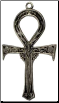 Vampire Ankh With Skulls Necklace