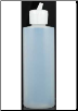 Plastic Bottle with Flip Top  4 oz