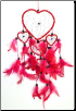 Hearts Dream Catcher  4 1/2""