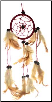 Brown Dream Catcher  3""