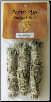 White Sage Smudge Stick 3 Pack 3""