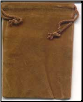 Brown Velveteen Bag