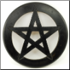 Pentagram Wall Hanging and Altar Tile 9""