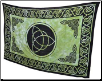 "Triquetra Tapestry 72"" x 108"""