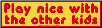 Play Nice with the Other Kids - Bumper Sticker